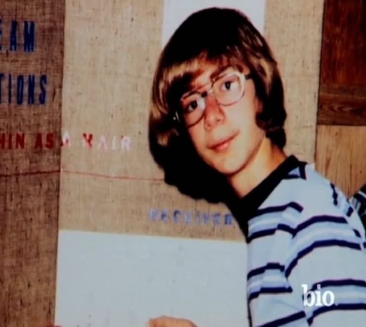 Jeff Bezos in his youth
