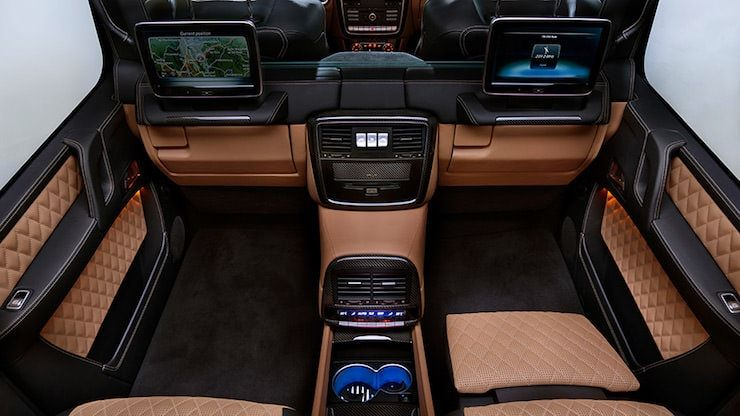 ercedes-Maybach G650 Landaulet