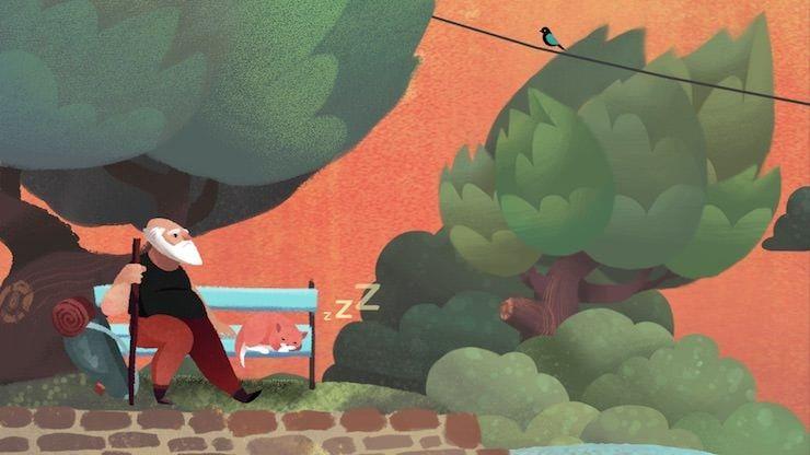Old Man's Journey для iPhone и iPad: искренняя игра о жизни, потере и надежде