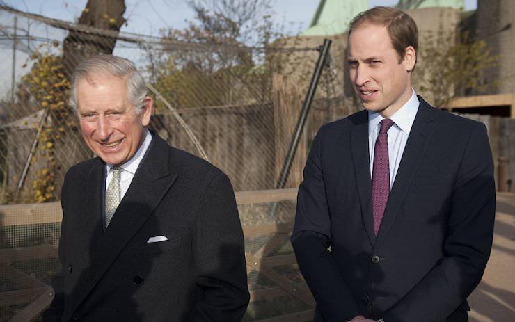 Принц Чарльз и Принц Уильям