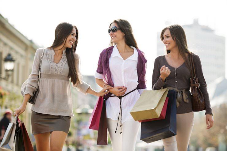 Женщины и шопинг