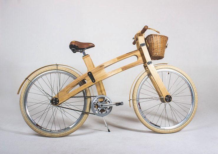 Белорусские деревянные велосипеды из березы и ясеня