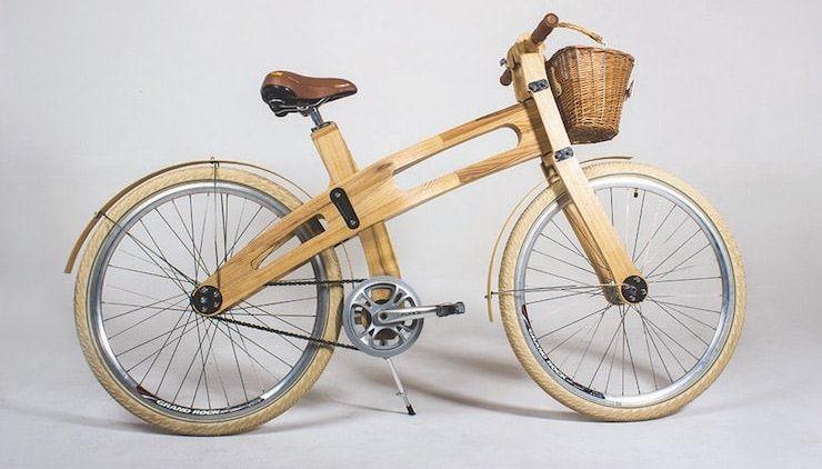 Белорусская компания предлагает деревянные велосипеды из березы и ясеня по $1200