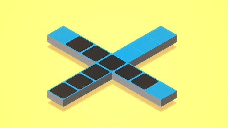Klocki для iPhone и iPad - стильная минималистическая головоломка