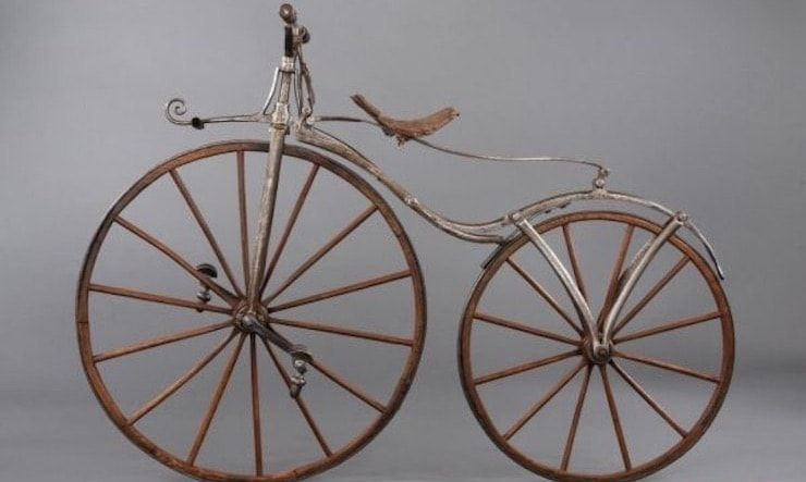 Первый велосипед