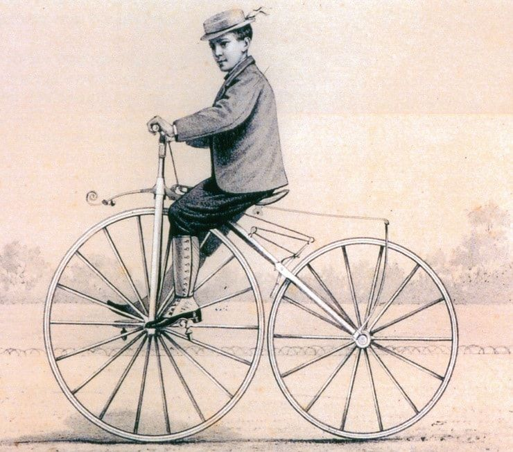 Велосипед Пьера Лалмана