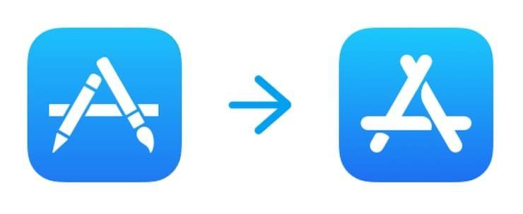 Новая иконка App Store
