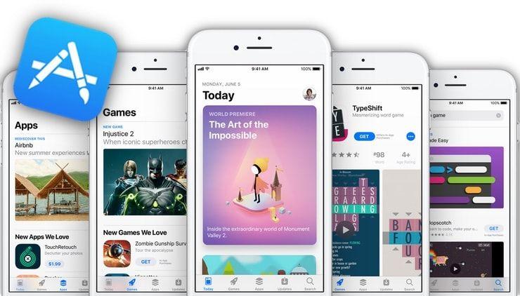 Новый App Store в iOS 11