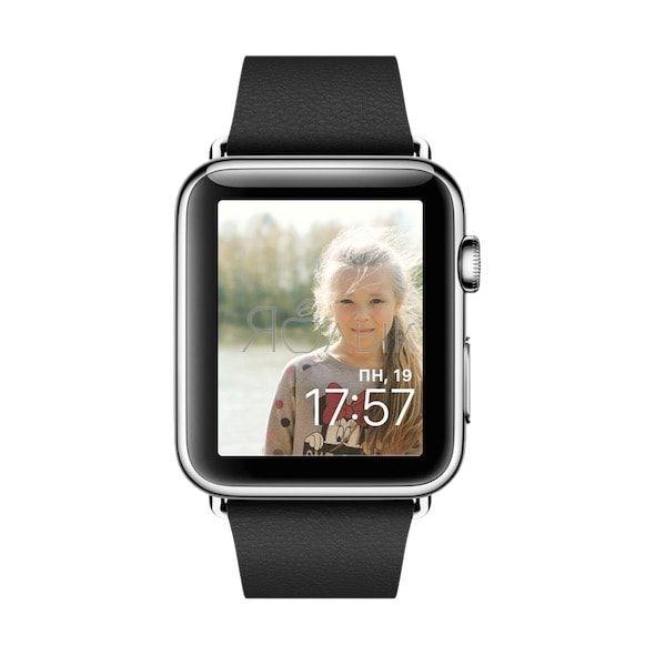 Как сделать заставку (циферблат) на Apple Watch из любого фото
