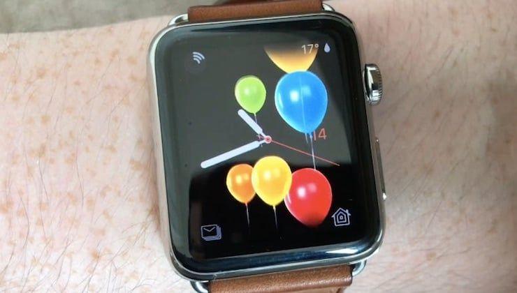 Apple Watch с watchOS 4 поздравят своих владельцев с днем рождения анимацией