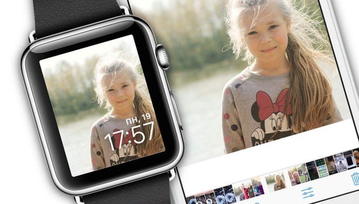 Любое фото в качестве заставки на Apple Watch