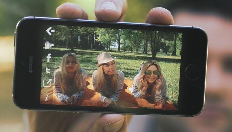 Как создать двойника на фото («клонировать» объекты) на iPhone