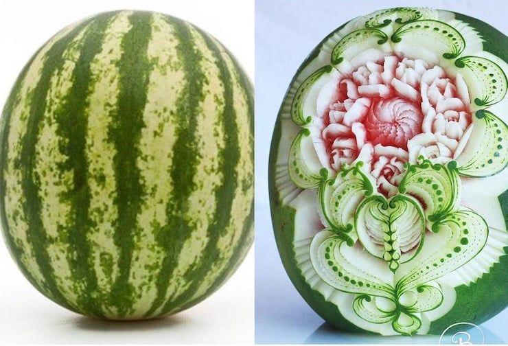 Итальянский художник превращает фрукты и овощи в скульптуры