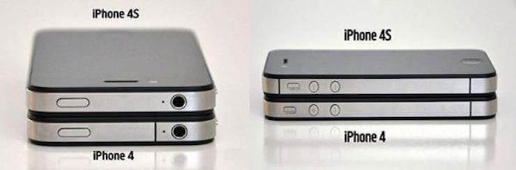 Чем внешне отличаются iPhone 5 и iPhone 5s от iPhone 4 и iPhone 4s