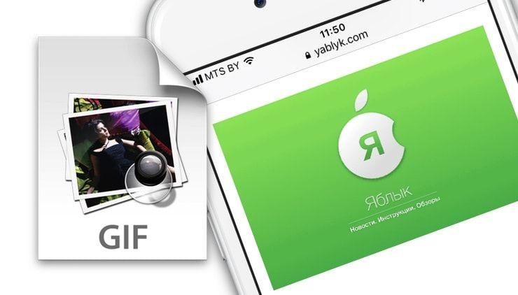 Как сохранить Gif на iPhone или iPad в приложение Фото