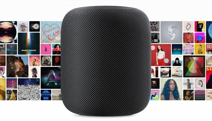 HomePod - домашняя смарт-колонка от Apple