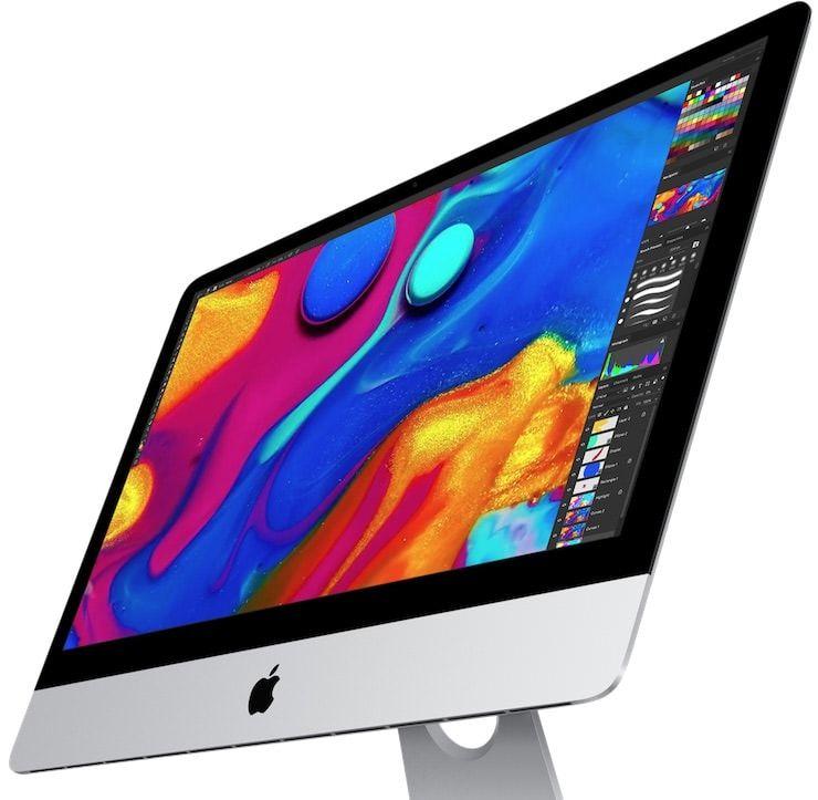 iMac 2017 дисплей