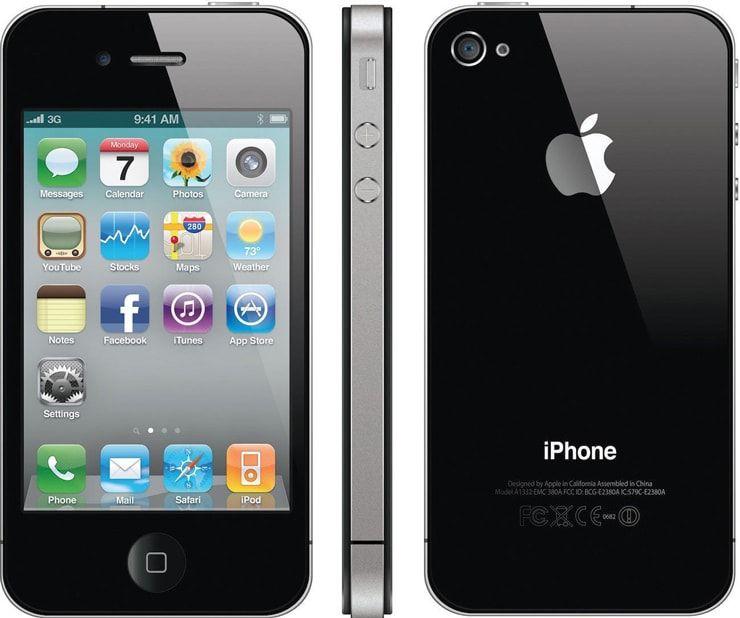 iPhone 4S и iPhone 4