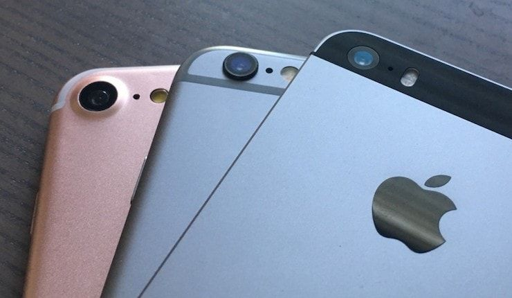 iphone 7, iphone 6s, iphone se