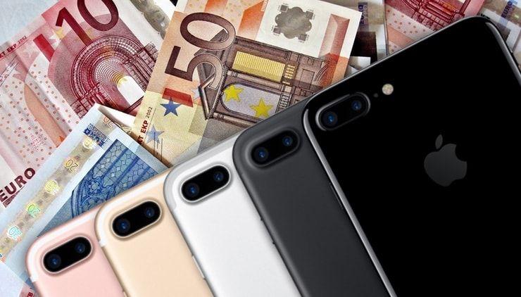 iphone 7 plus euro