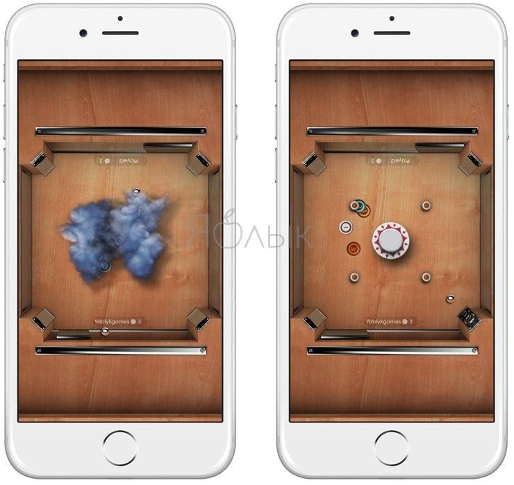 Игра Multiponk для iPhone и iPad — улучшенный классический Pong с динамичным мультиплеером