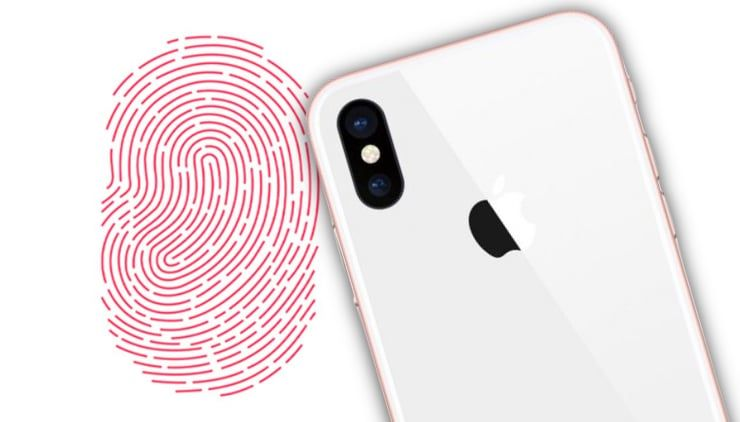touch id в iphone 8