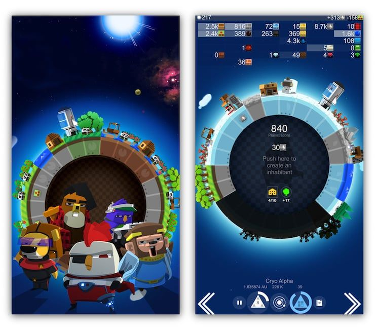 Игра A Planet Of Mine - глобальная стратегия для iPhone и iPad