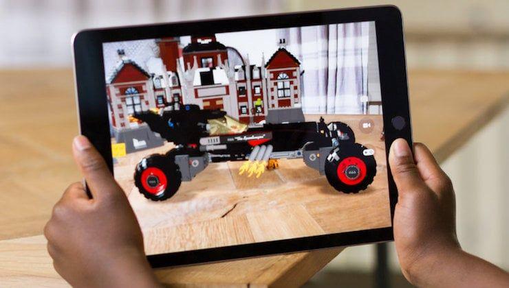 ARKit-приложения (дополненная реальность) для iOS 11