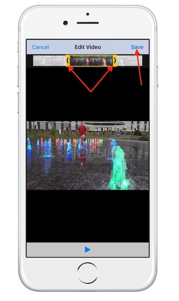 гифку (GIF) из любого видео на iPhone или iPad при помощи Workflow