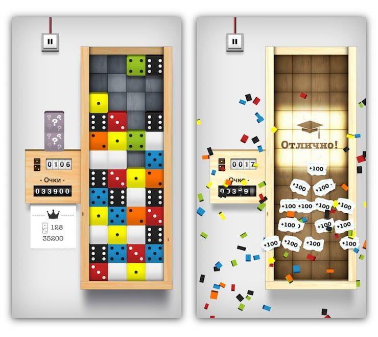 Игра Domino Drop для iPhone и iPad