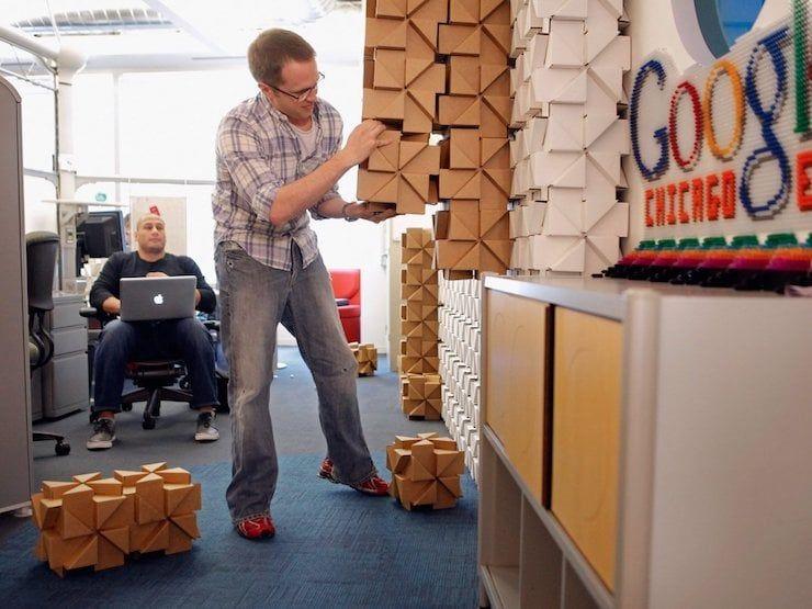 Офис Google в Чикаго