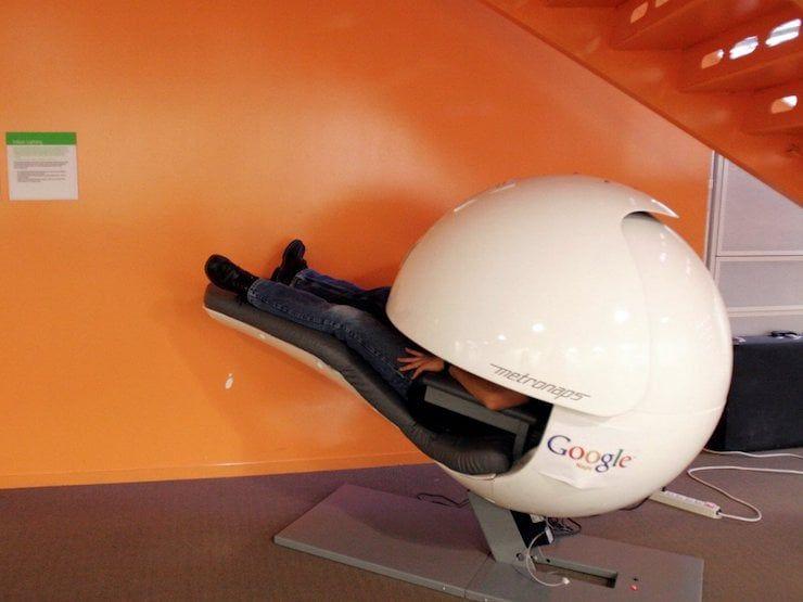 Офис Google в Маунтин-Вью