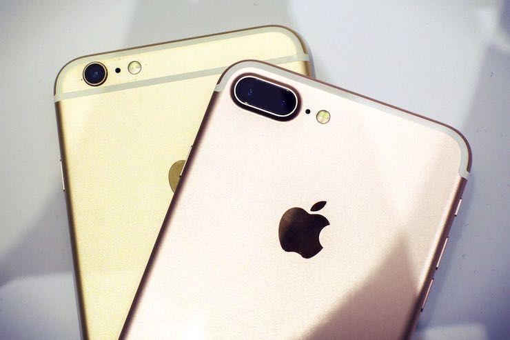 Главные отличия iPhone 7 Plus от iPhone 6s Plus