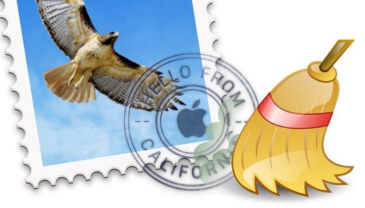 Как почистить память Mac, удалив ненужные вложения в приложении Почта