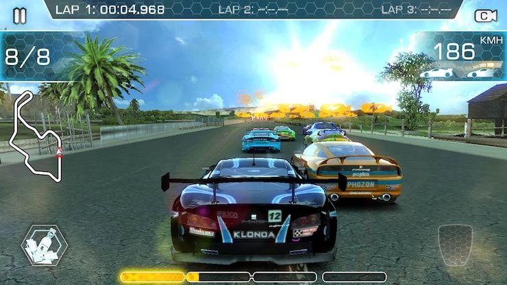 Ridge Racer Slipstream - лучшие аркадные гонки