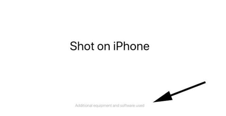 Снято на iPhone
