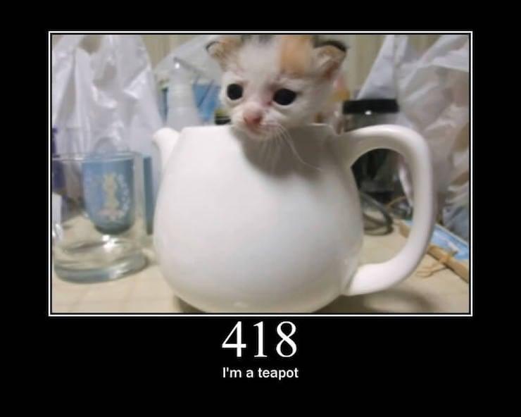 error 418 teapot