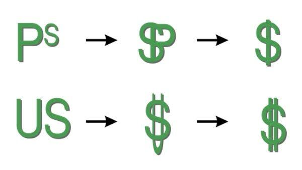 """Как появился знак """"$"""""""