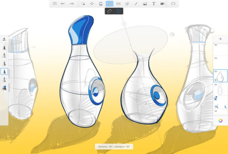 Autodesk SketchBook для iPad