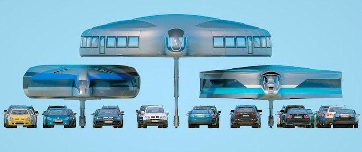Гироскопический автомобиль будущего