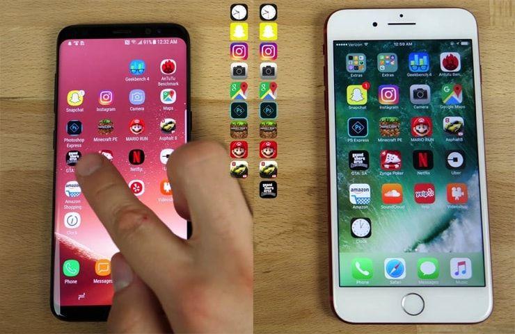 iPhone или Galaxy?