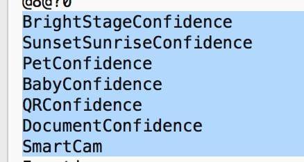 режимы съемки в камере iPhone 8