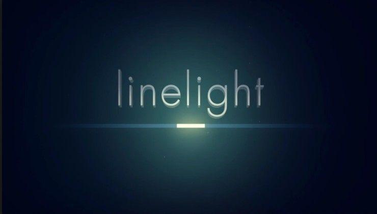 Игра Linelight для iPhone и iPad - минималистичная головоломка с оригинальным дизайном
