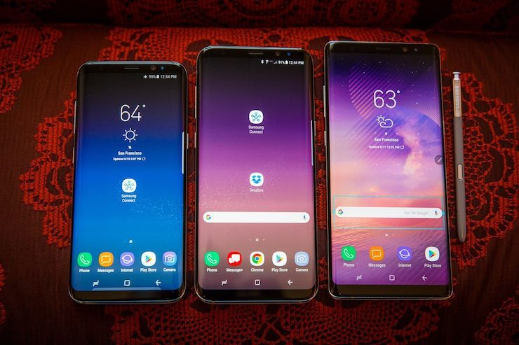 Galaxy Note 8, Galaxy S8 / S8 Plus