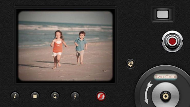 8mm Vintage Camera, или как сделать эффект кинопленки