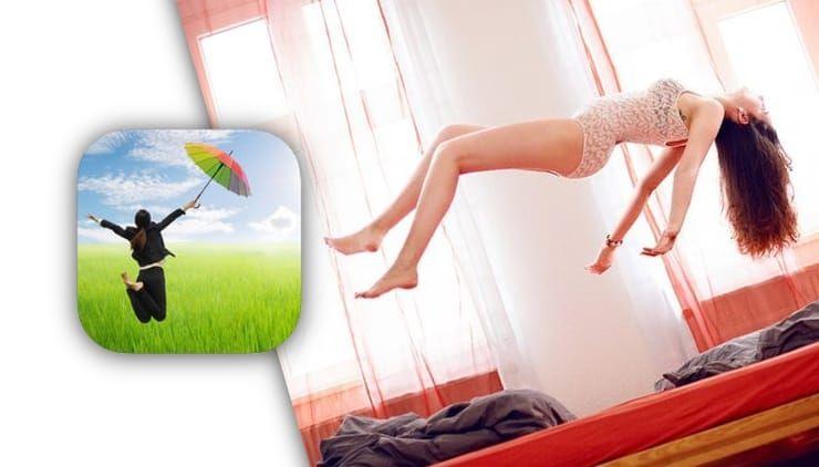 Levitagram, или как на iPhone создавать фото с эффектом левитации (полета)