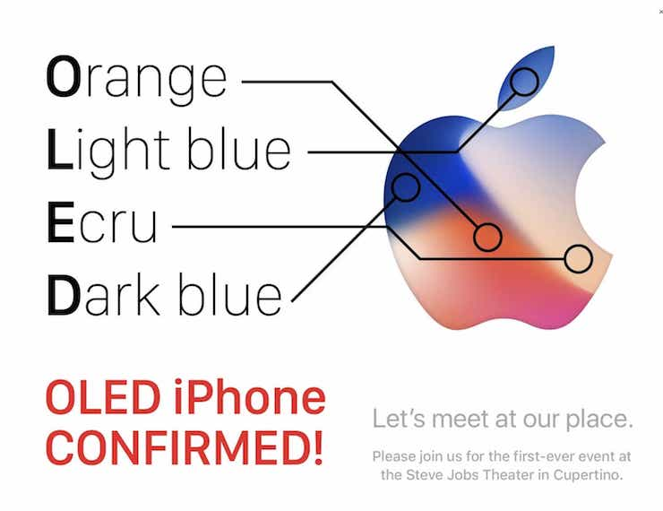 Какие загадки кроются в дизайне приглашения Apple