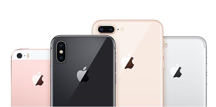 Все iPhone 2017