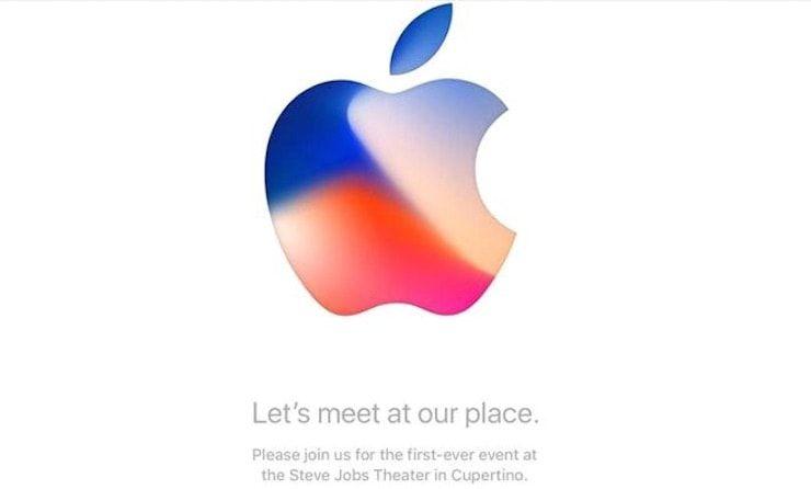 презентация iPhone 8
