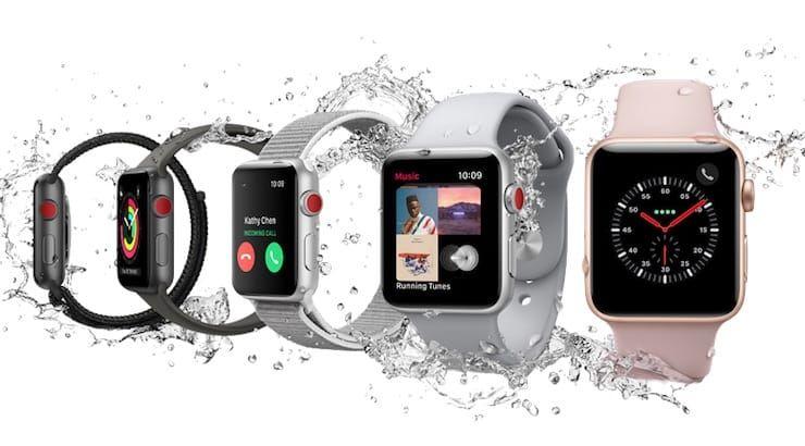 Apple Watch Series 3 с LTE (со встроенной СИМ-картой)